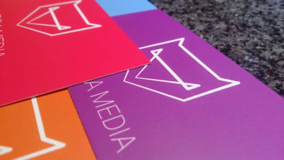 Hydra Media Business Cards In Various Colours