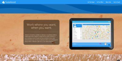 Saleboat website screenshot