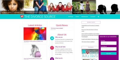 Divorce Source website screenshot