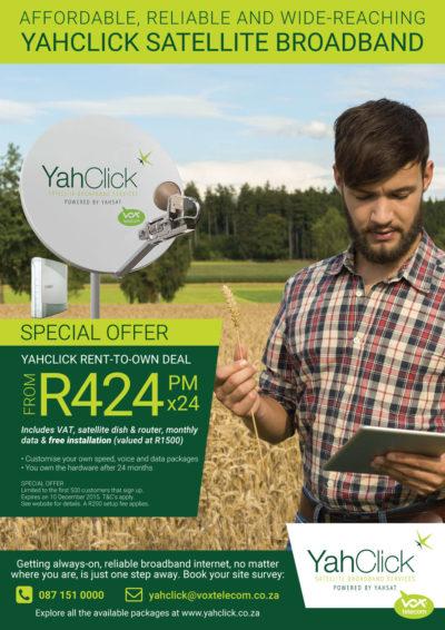 Vox Telecom YahClick! A4 Ad